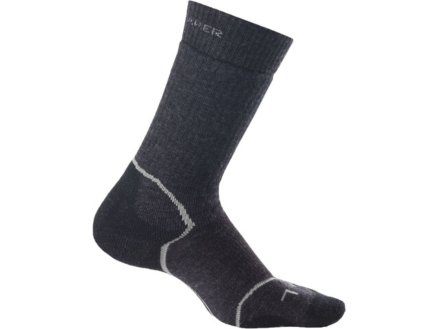 Icebreaker Hike+ Medium Crew Socks Women jet heather